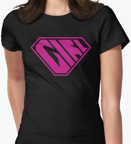 Girl SuperEmpowered (Pink) T-Shirt