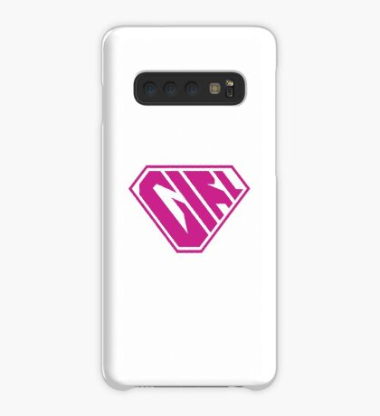 Girl SuperEmpowered (Pink) Case/Skin for Samsung Galaxy