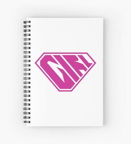 Girl SuperEmpowered (Pink) Spiral Notebook