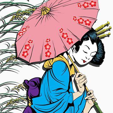 Vintage Geisha-V by garmsink
