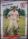 101 - Marty Barrett by Foob's Baseball Cards