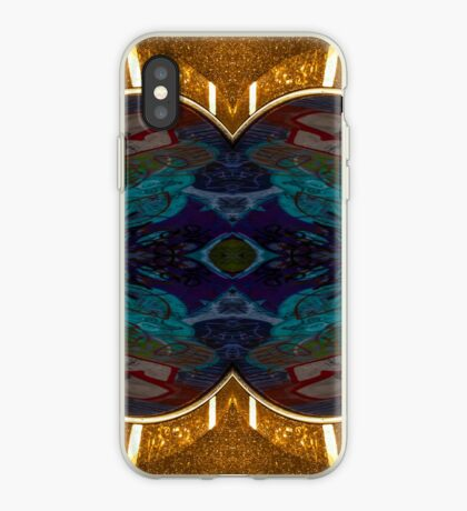 Golden kiss iPhone Case