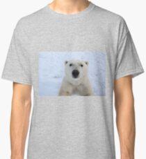 Close Encounter - Polar Bear Portrait Classic T-Shirt
