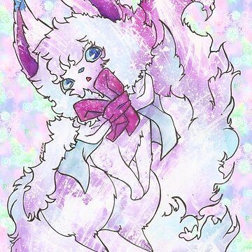 Fluffy Fox Thing Named Fou by RenaInnocenti