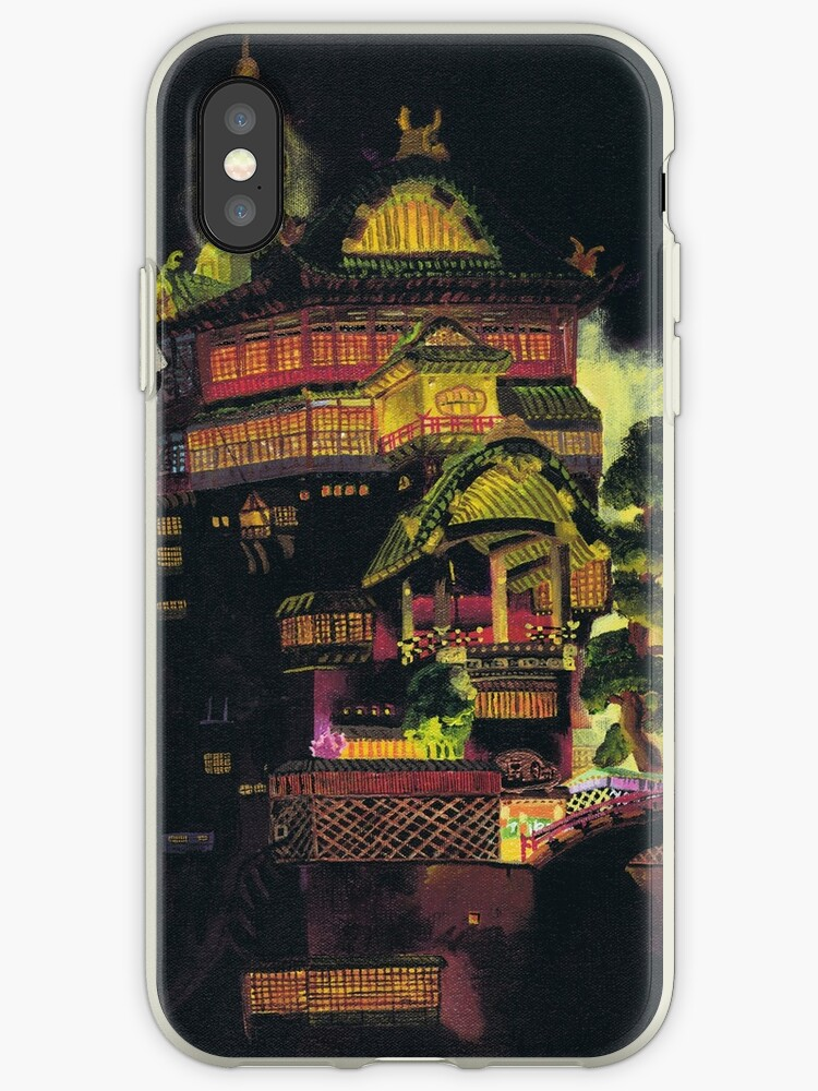 Spirited Away - Bath House at Night by mcclosker