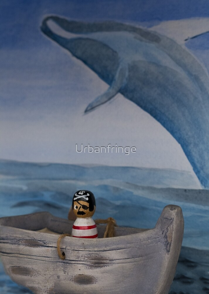 Pirate Captain Hook Sea's Moby Dick by Urbanfringe