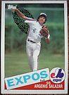 056 - Argenis Salazar by Foob's Baseball Cards