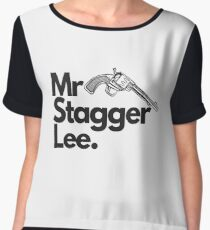 Mr Stagger Lee Chiffon Top