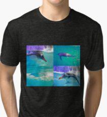 The Penguin Club Tri-blend T-Shirt