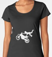 motorcyclist Women's Premium T-Shirt