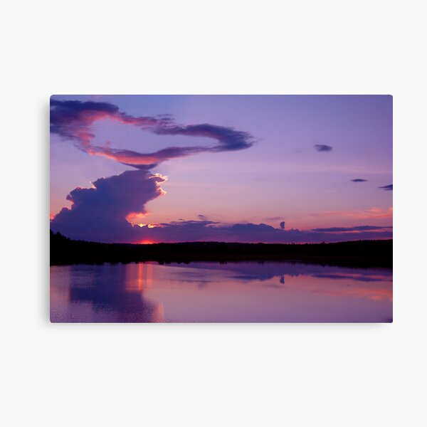 Hearts Over Maine Canvas Print