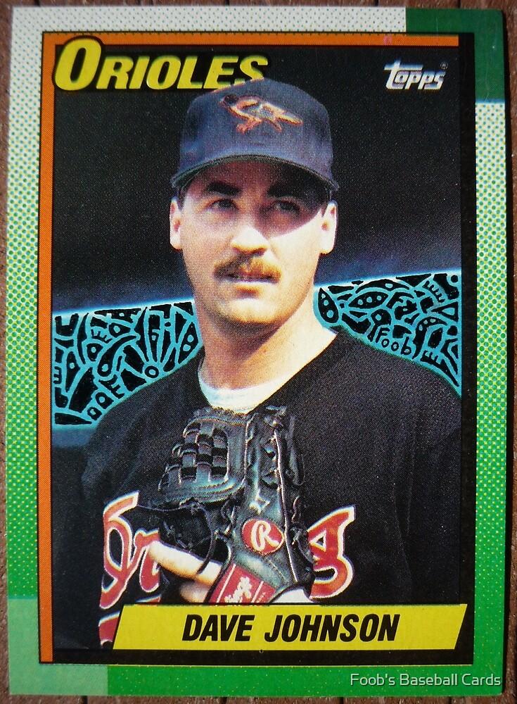 223 - Dave Johnson by Foob's Baseball Cards