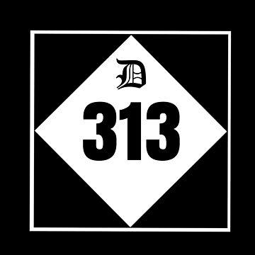"DETROIT-""D"" 313 by DRAWGENIUS"