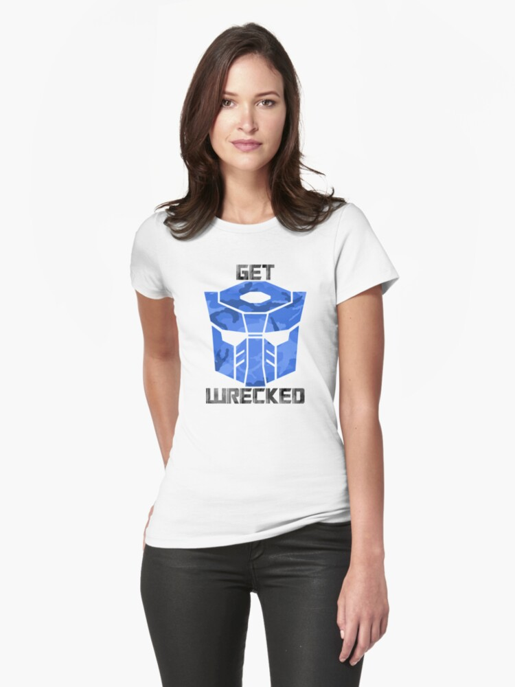 Get Wrecked Womens T-Shirt Front