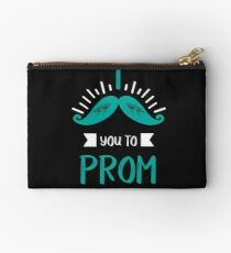 Funny Promposal! I Mustache You to Prom! Studio Pouch
