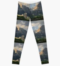 Evening at Cinque Torri Leggings