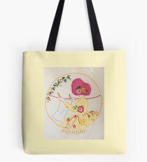 Monday  Morning Bonnet Lady Tote Bag