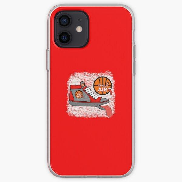 TONGUE AIR BASKETBALL HI-TOPS SHOES iPhone Soft Case