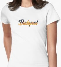 Budapest Women's Fitted T-Shirt