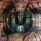 Door out of the darkness by Adam Guiel