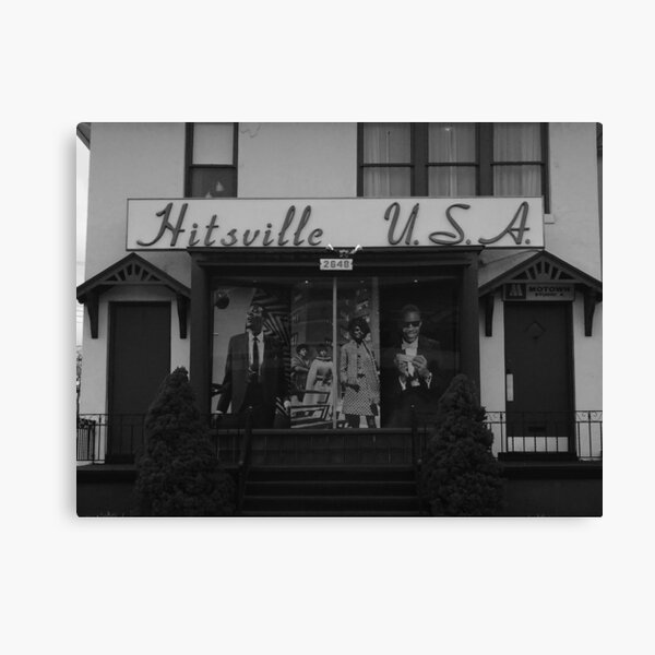 Hitsville U.S.A. Canvas Print
