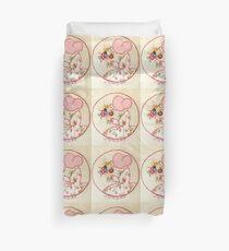 Sunny Sunday Bouqet Of Flowers  Bonnet Lady Duvet Cover