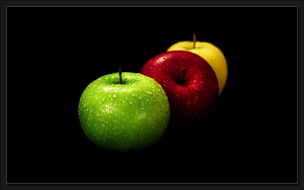 Apples by Rick Wollschleger