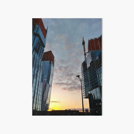 New York, Manhattan, New York City, Skyscraper, tower block, high rise building, tower, block, high rise, building Art Board Print