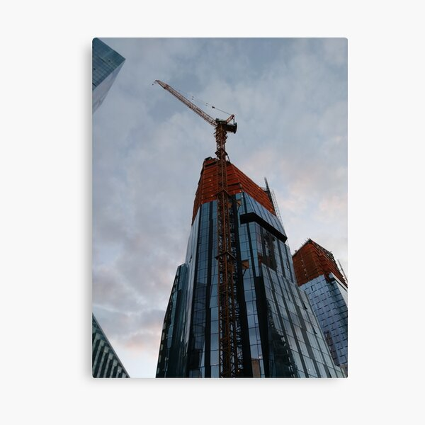 New York, Manhattan, New York City, Skyscraper, tower block, high rise building, tower, block, high rise, building Canvas Print
