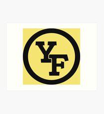 Yellow Fever logo Art Print