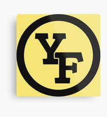 Yellow Fever logo Metal Print