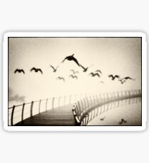 Wild geese Sticker