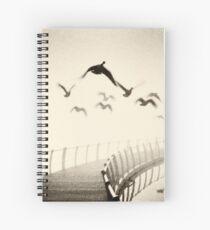 Wild geese Spiral Notebook