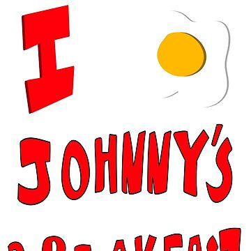 I Egg Johnny's Breakfast by RetailTheComic