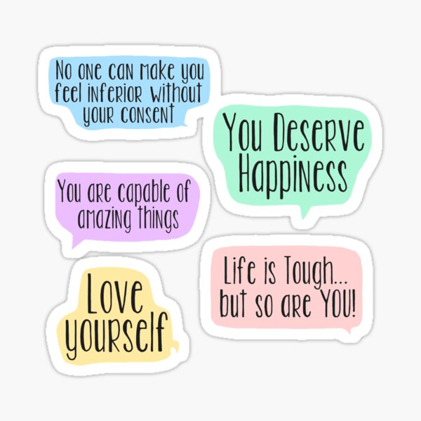 Positive Affirmations Sticker