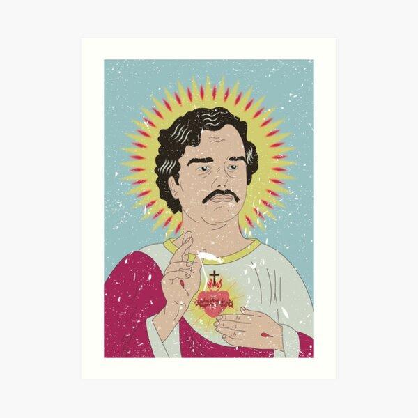 San Pablo Escobar Lámina artística