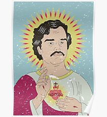 Heiliger Pablo Escobar Poster