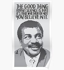 Neil Degrasse Tyson Quote Posters Redbubble
