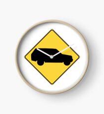 SUV sign Clock