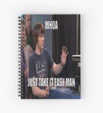 Cuaderno de espiral Drake y Josh: Whoa, Just Take It Easy Man