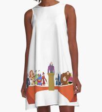 Legion of Doom - Minimalist Style A-Line Dress