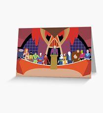 Legion of Doom - Minimalist Style Greeting Card