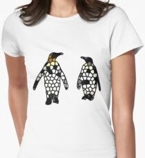 The cellular penguins Women's Fitted T-Shirt