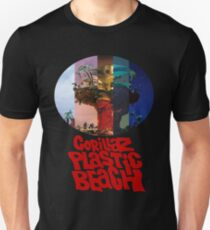 Gorillaz Pastic Beach - mix of all covers Unisex T-Shirt