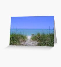 Captiva Island Beach  Greeting Card