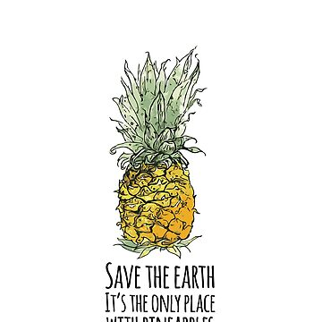 Earth Pineapple by ElJimmo