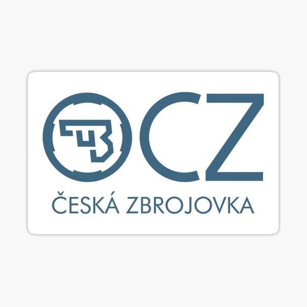 CZ Firearms Logo Sticker