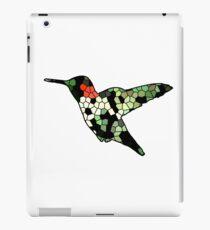 Hummingbird cell tiles iPad Case/Skin