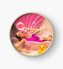 Barbie Bath Clock