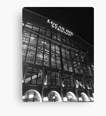 Lucas Oil Stadium at night Canvas Print